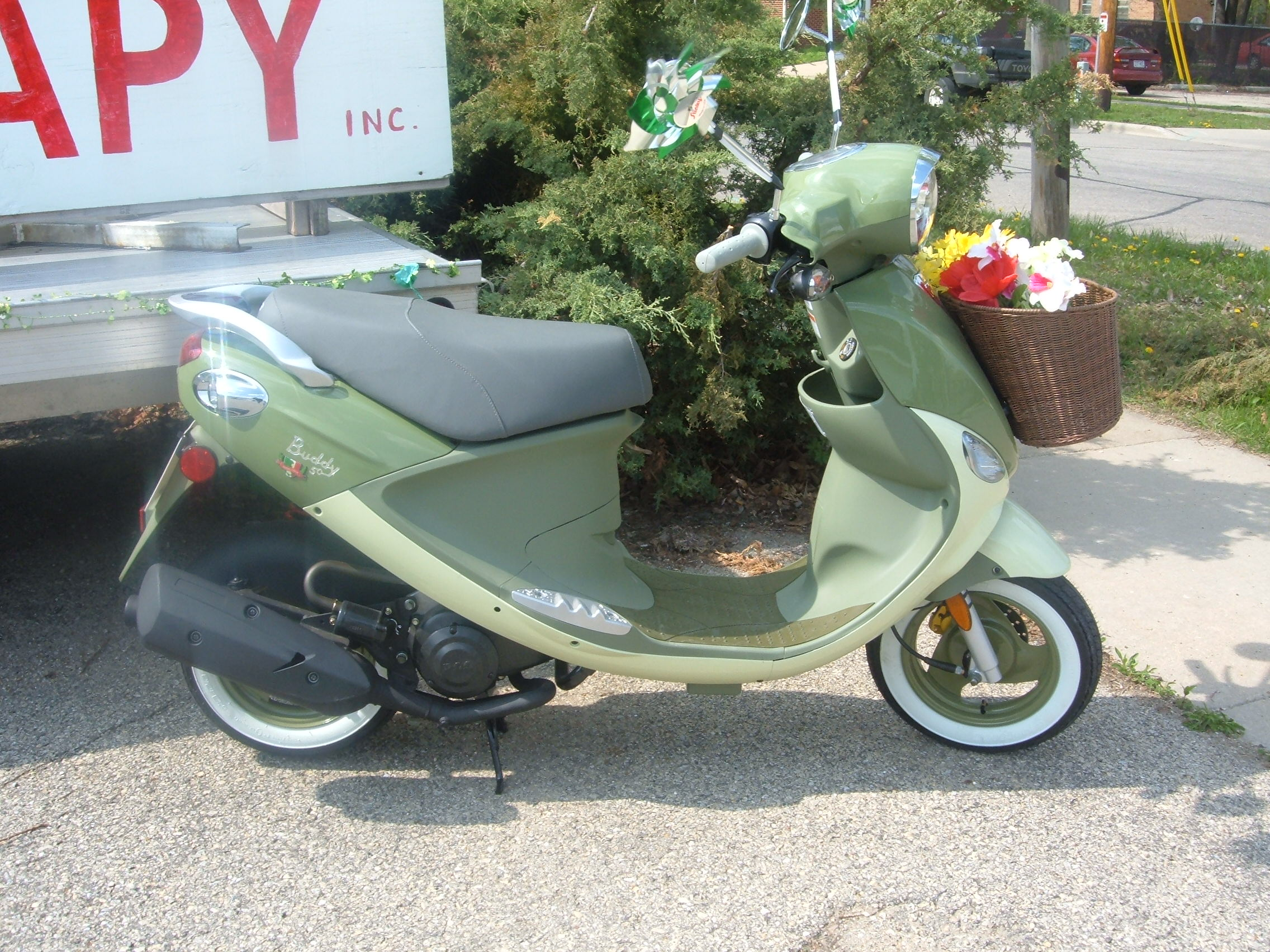 Genuine Buddy 150cc for sale at scooter therapy inc