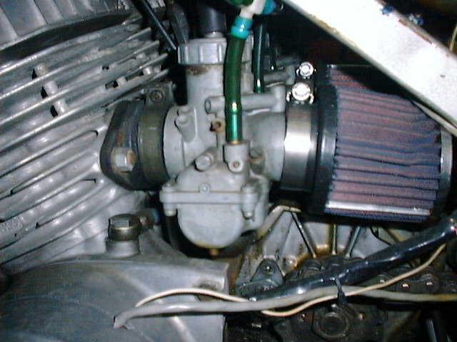 H-2  Kawasaki carburetor