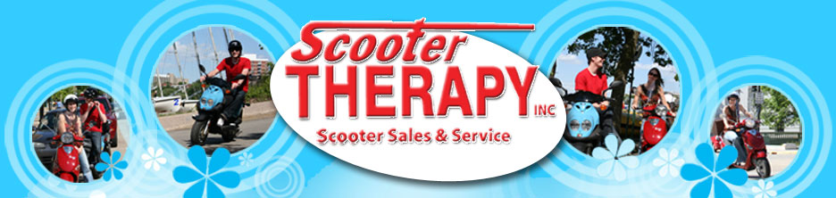 Scooter Therapy- Scooter & moped sales and service since 1991. Kymco, genuine, top quality and best warranty!