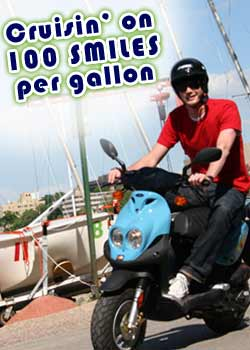 Cruisin' on 100 miles per gallon