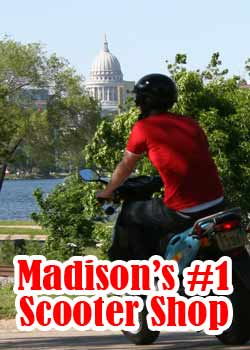 Madison's #1 Scooter Shop